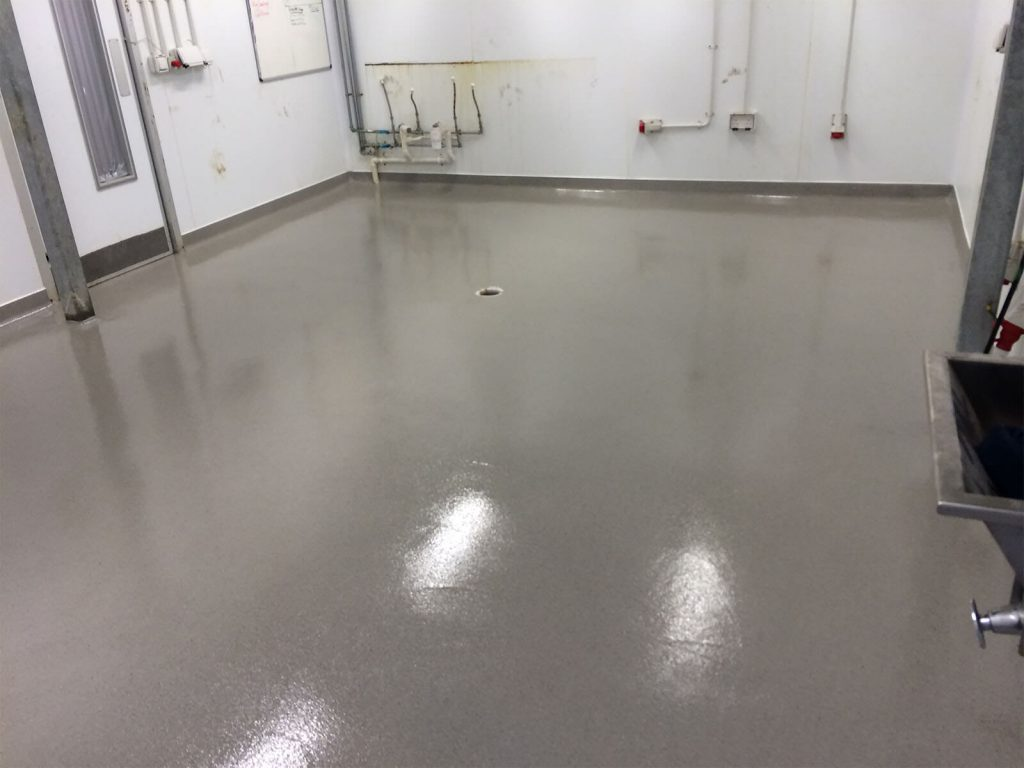 Fodder Foods Organic Butchery Epoxy Quartz Resin Floor System