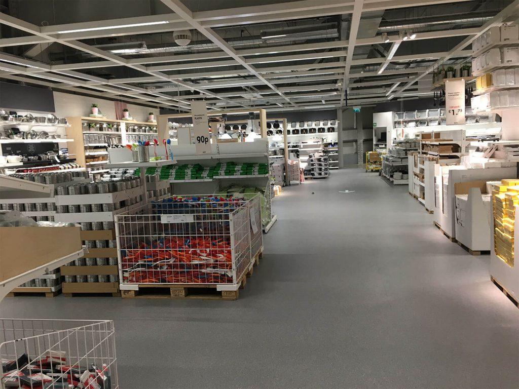 Ikea Store Coventry Tarkett Vinyl Safety Flooring