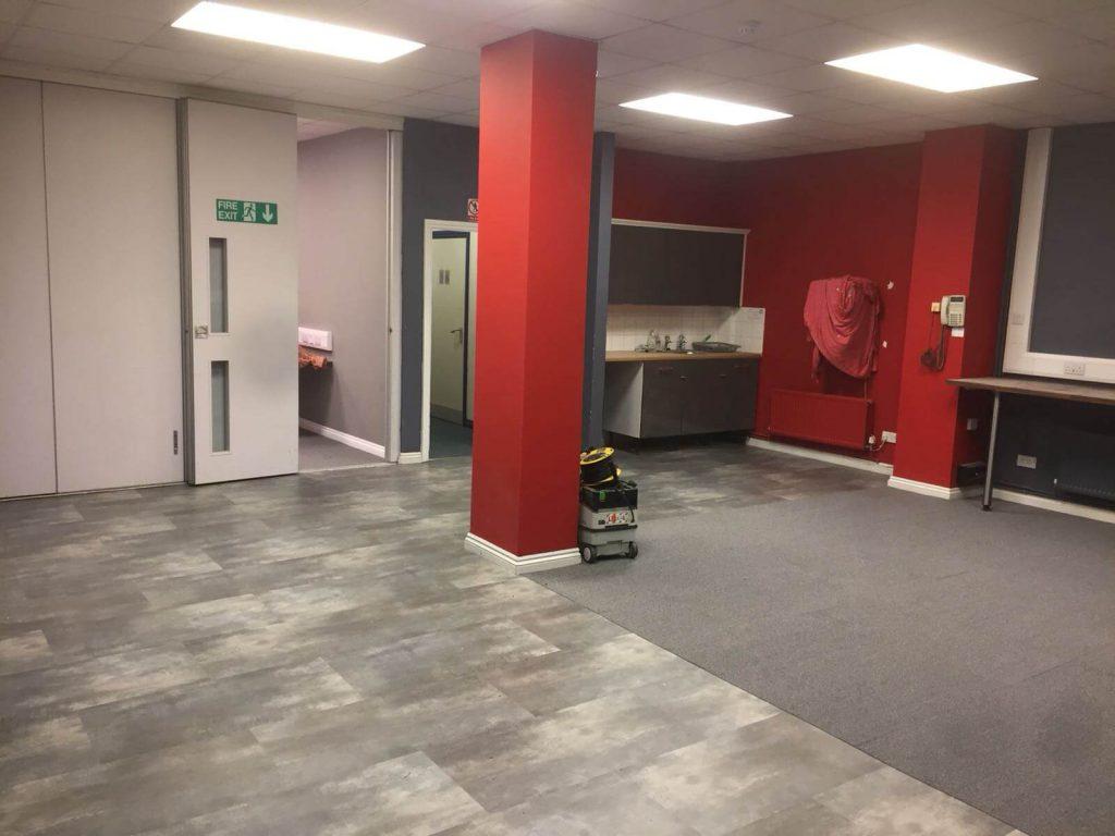 Nexus Music Academy Earlsdon Coventry Flooring Project
