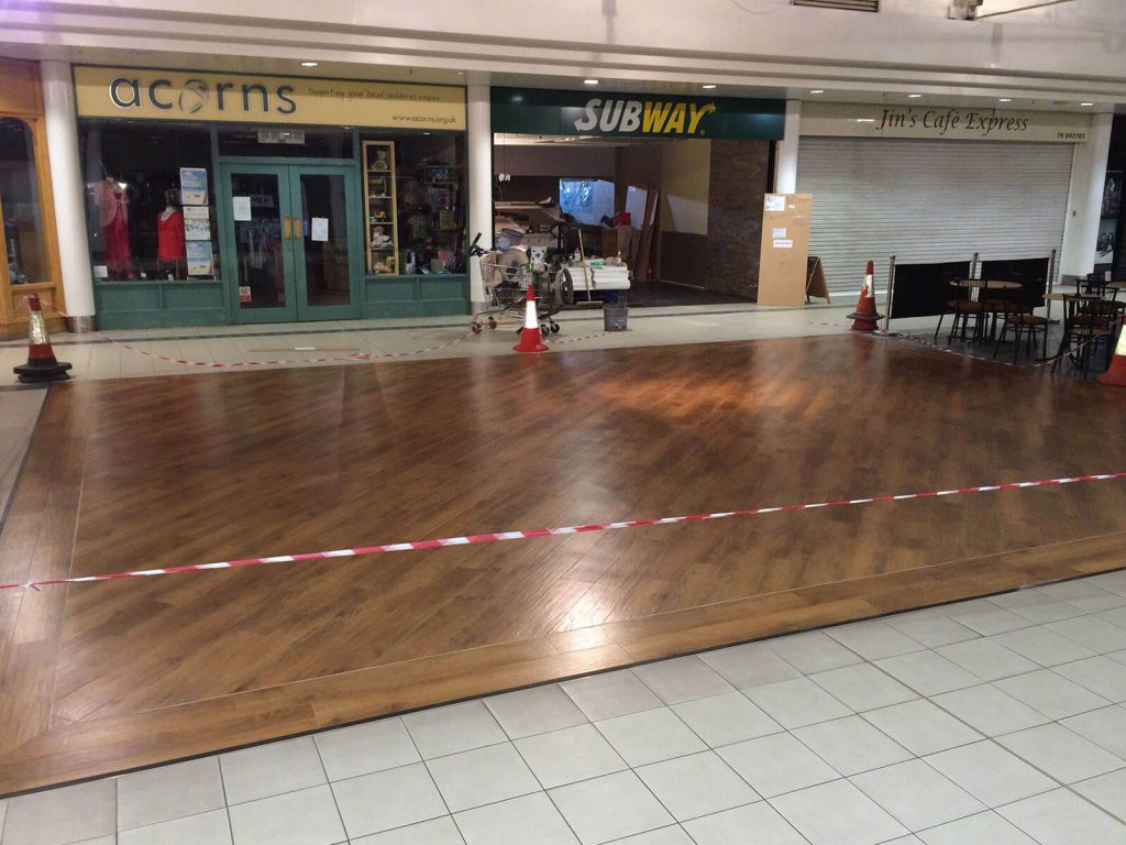 Subway Cannon Park Coventry Epoxy Resin Flooring