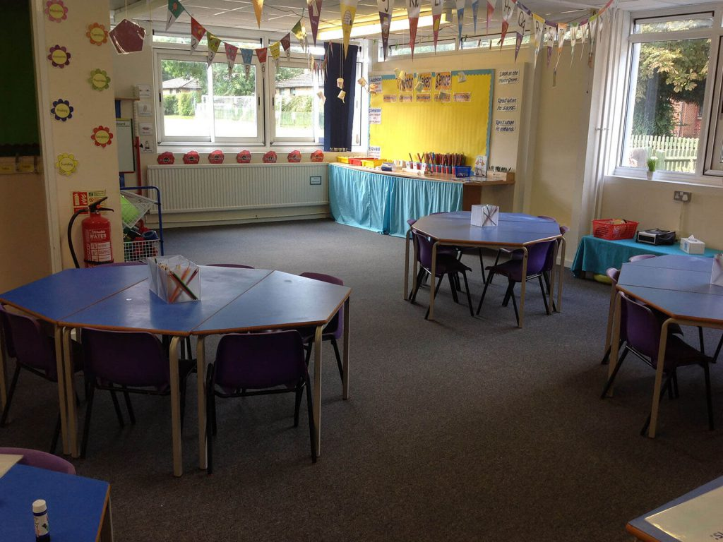 The Grange School Banbury Heckmondwike Carpet Tiles